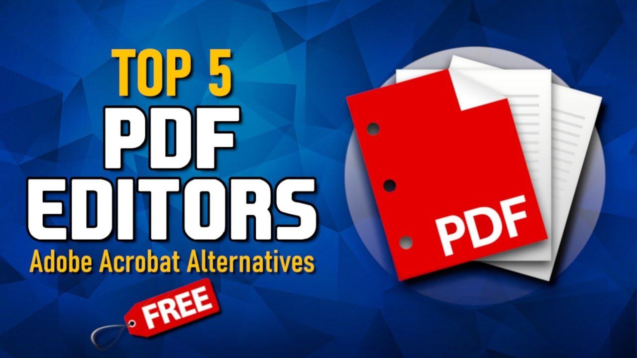 Adobe Acrobat Alternatives 2020