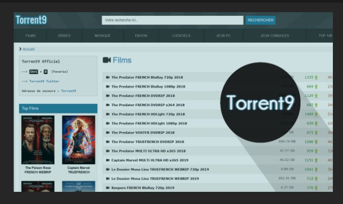 Torrent9 Proxy And Mirror Sites Complete List