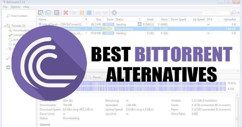 Great BitTorrent Alternatives For 2021
