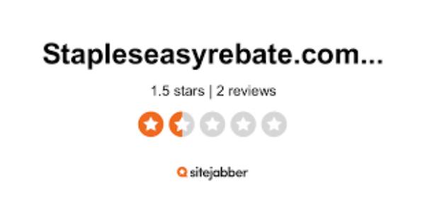 stapleseasyrebate com rebatecard