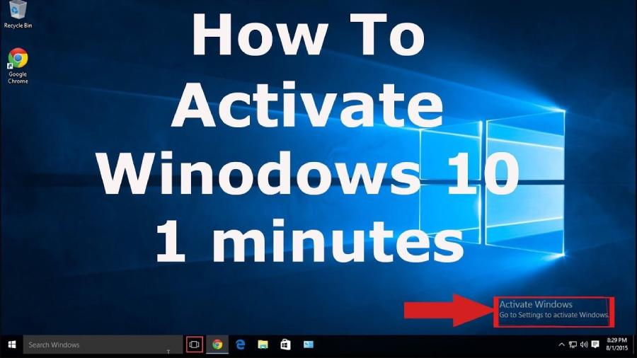 How To Activate Windows 10 On A Computer